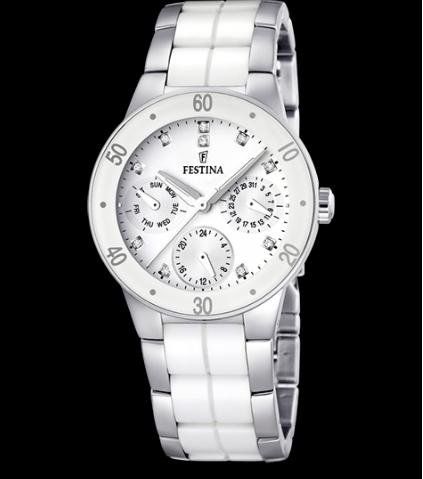 Catálogo relojes Festina colección 2020 2021 cerámica blanca
