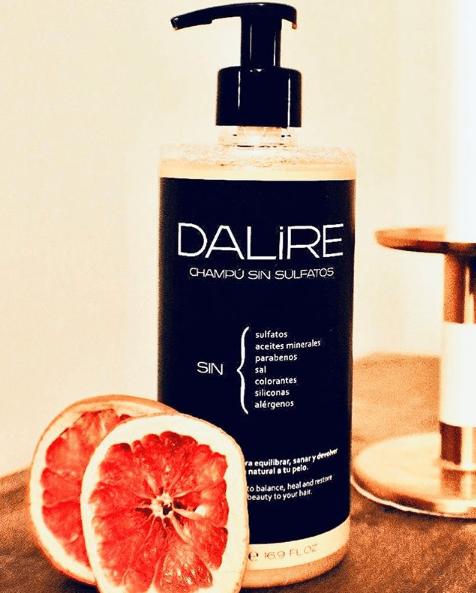 Los mejores champús anticaspa sin sulfatos ni parabenos para hombres Dalire