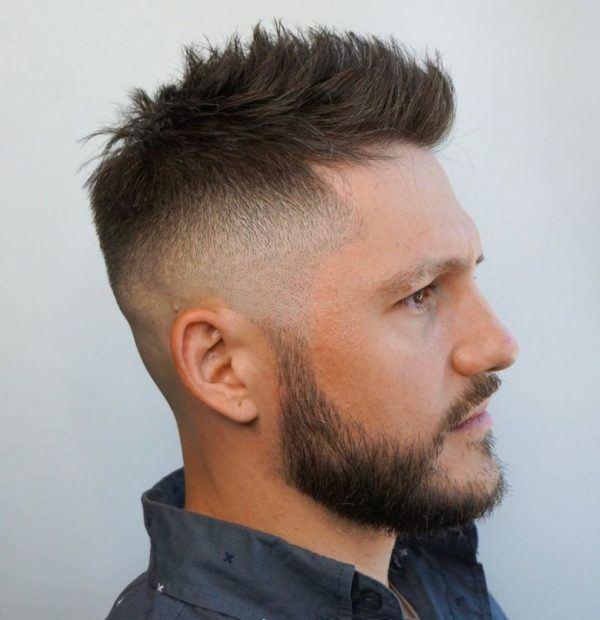 Los mejores cortes de cabello para hombre pelo corto CORTE con ligero despeinado