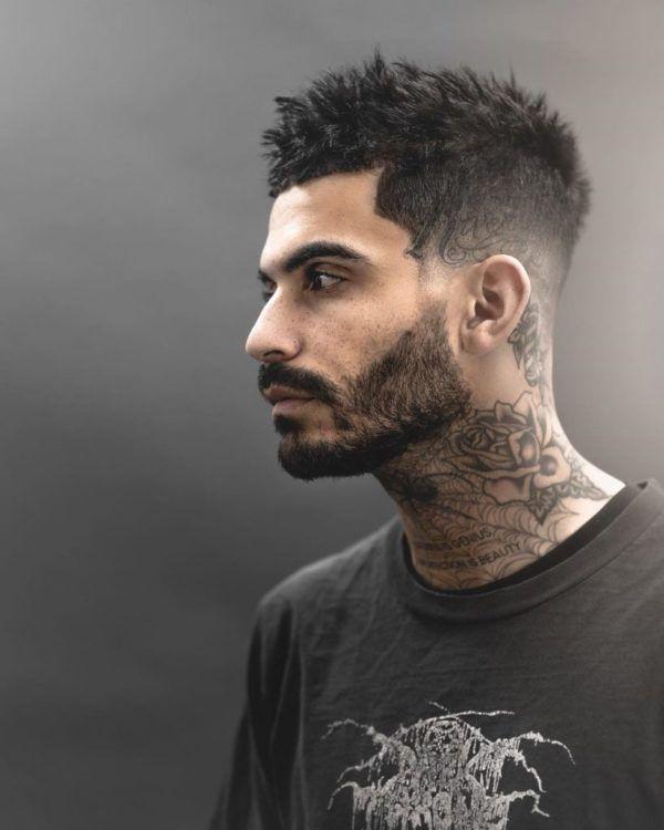 Los mejores cortes de cabello para hombre pelo corto CORTE desordenado