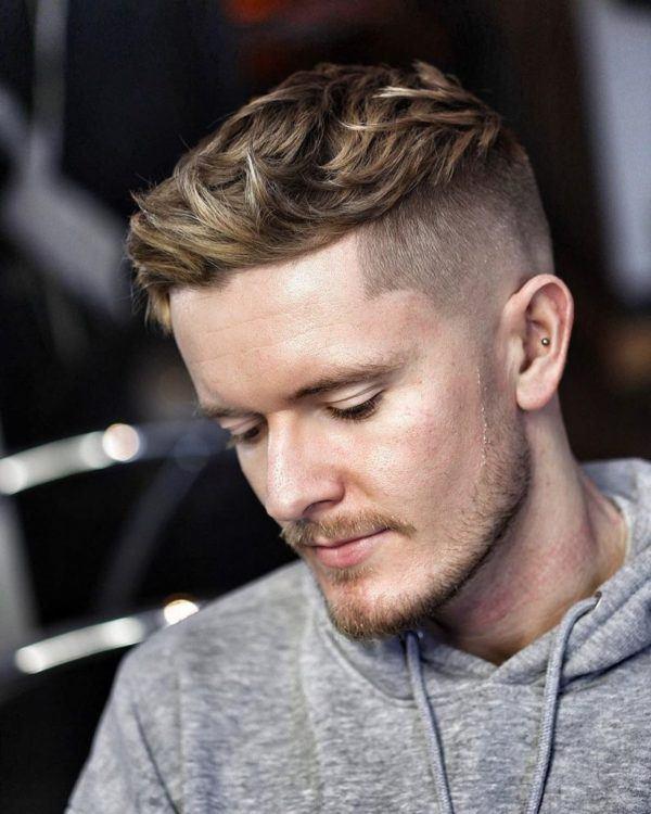 Los mejores cortes de cabello para hombre pelo corto CORTE texturizado