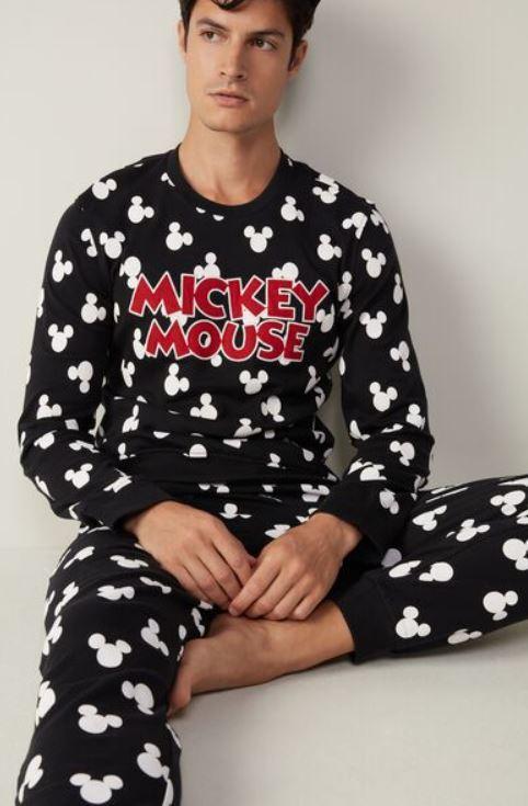 pijama navideño de mickey mouse