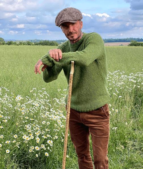 Estilo utilitario David Beckham casual