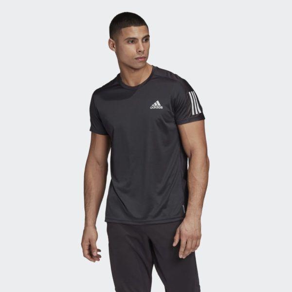Catálogo Adidas Otoño Invierno 2020 2021 Camiseta Own the Run Negra