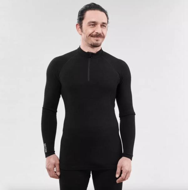 Decathlon en Otoño Invierno 2020 2021 camiseta térmica esquí y nieve Wedze 900