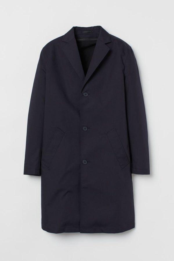 Catálogo H&M Otoño Invierno 2020 2021 abrigo con forro extraíble