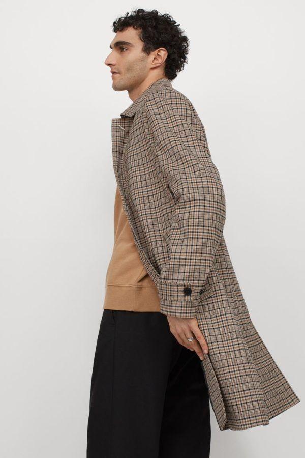Catálogo H&M Otoño Invierno 2021 Abrigo sobretodo
