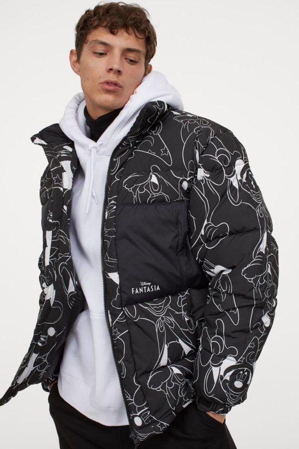 Catálogo H&M Otoño Invierno 2020 2021 chaqueta puffy