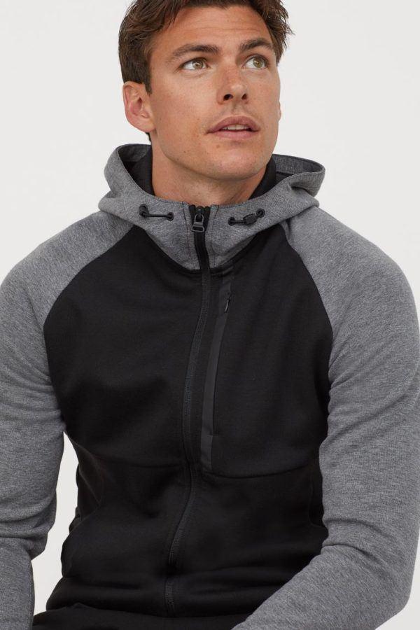 Catálogo H&M Otoño Invierno 2020 2021 chaqueta sport regular fit