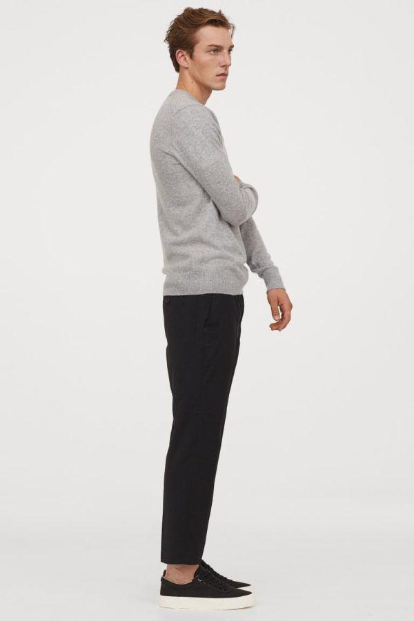 Catálogo H&M Otoño Invierno 2020 2021 jersey de cachemira