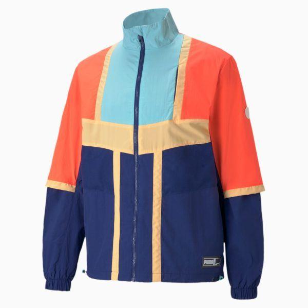 Catálogo Puma Otoño Invierno 2020 2021 chaqueta de baloncesto Court Side