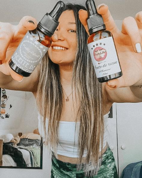 Propiedades del aceite de ricino para el pelo: ¿qué efectos tiene? Puro