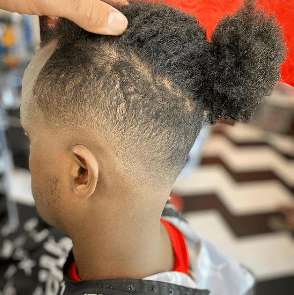 Degradado en el pelo: cómo se hace y cómo llevarlo low fade moño