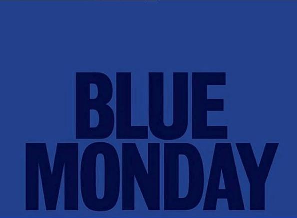 ¿Qué es el Blue Monday y dónde podemos encontrar las rebajas? Cartel