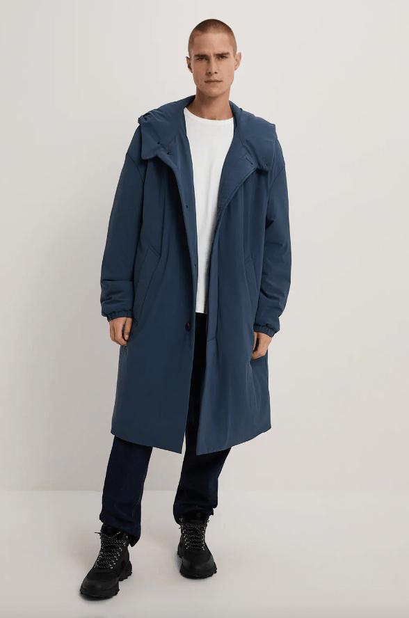 Abrigos de hombre Zara Invierno 2021 abrigo acolchado capucha