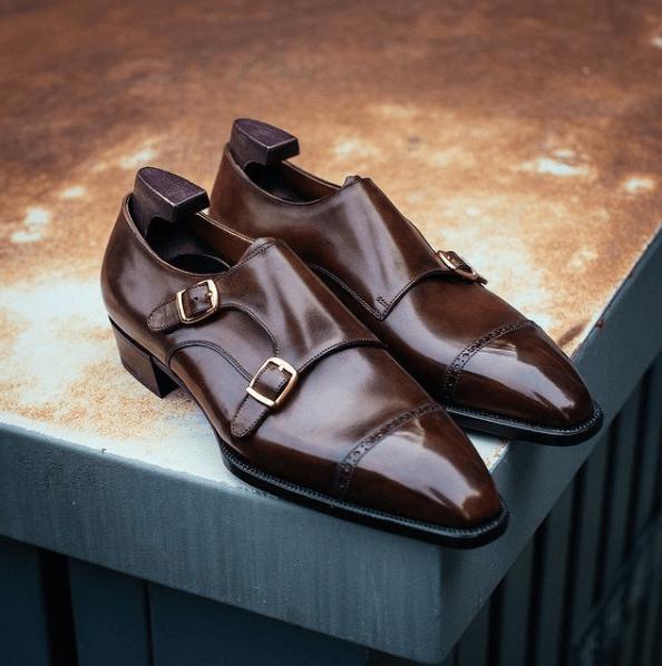 Los diferentes tipos de zapatos para vestir y cuándo usar cada uno Monk