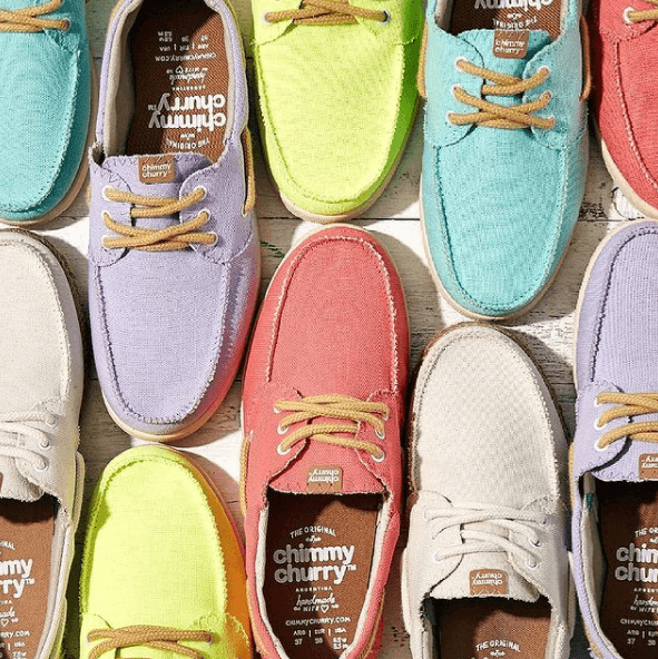 Los diferentes tipos de zapatos para vestir y cuándo usar cada uno Náuticos de colores