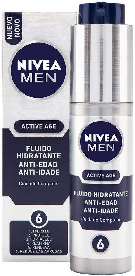 Las mejores cremas antiedad para hombres 2021 Nive Active Age