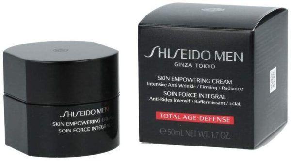 Las mejores cremas antiedad para hombres 2021 Shiseido Men