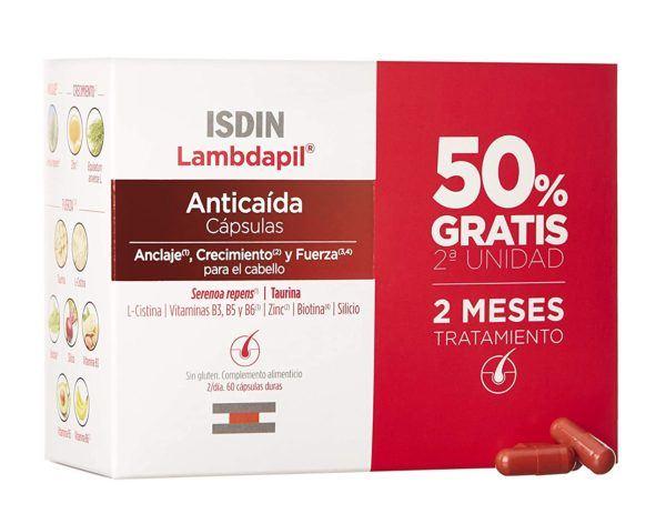 Las mejores vitaminas para la caída del pelo Isdin