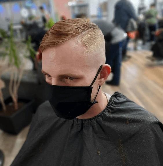 Peinados y cortes de Pelo para hombres con poco pelo y con entradas comb over