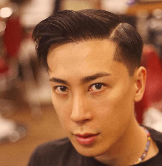 Peinados y cortes de Pelo para hombres con poco pelo y con entradas comb over flequillo