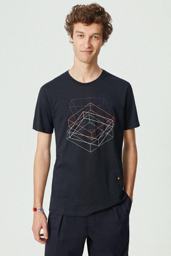 Purificación García - Rebajas de Verano para hombre 2021 camiseta estampada geométrico
