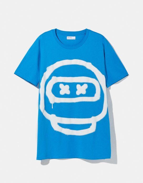 Catálogo Bershka hombre Verano 2021 camiseta Future Ready