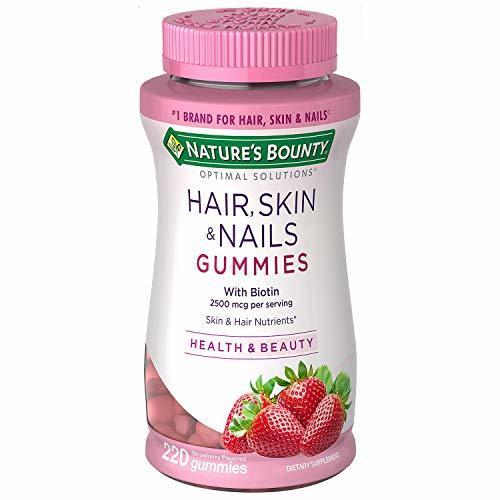 Las mejores vitaminas para el crecimiento del cabello Gominolas Bounty