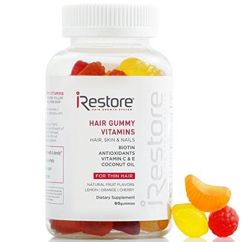 Las mejores vitaminas para el crecimiento del cabello iRestore