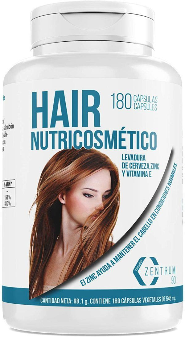 Las mejores vitaminas para el crecimiento del cabello Hair Nutricosmético