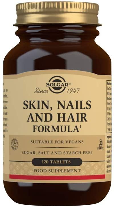 Las mejores vitaminas para el crecimiento del cabello Solgar