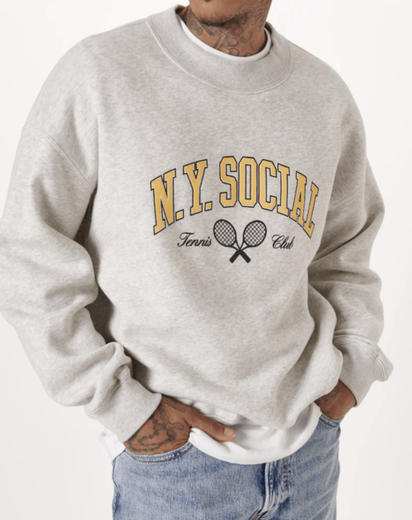 Moda Hombre | Otoño Invierno 2021 - 2022 Abercrombie Sudadera