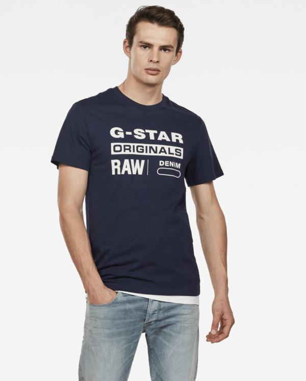 Las 10 Tendencias imprescindibles para hombre Primavera Verano 2021 camiseta G-Star Raw