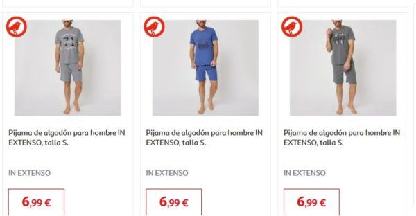 ALCAMPO REBAJAS primavera verano 2021 pijamas