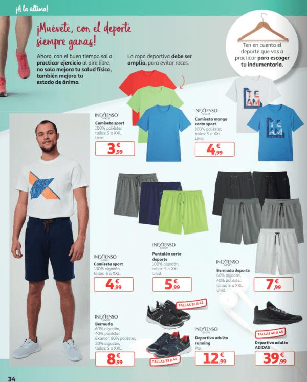Catálogo Rebajas Alcampo Primavera Verano 2021 pijama de algodón In Extenso folleto verano 2021