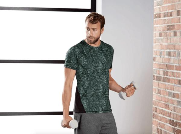 Catálogo Ropa Lidl Verano 2021 para hombre camiseta deportiva