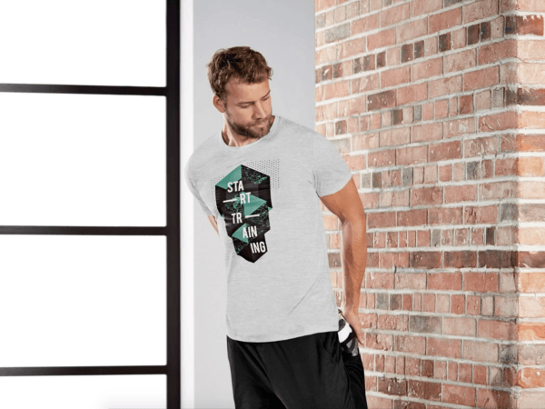Catálogo Ropa Lidl Verano 2021 para hombre camiseta deportiva manga corta