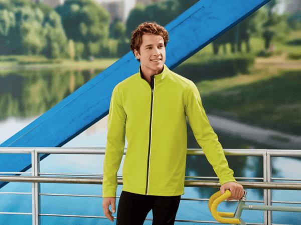 Catálogo Ropa Lidl Verano 2021 para hombre chaqueta softshell ciclismo