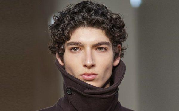 Cortes de pelo hombre primavera verano corte de pelo pelo rizado natural