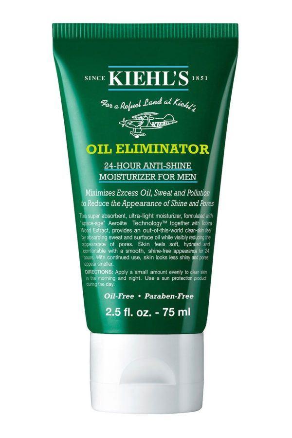 Las mejores cremas de hombre para piel grasa Oil Eliminator Kiehls