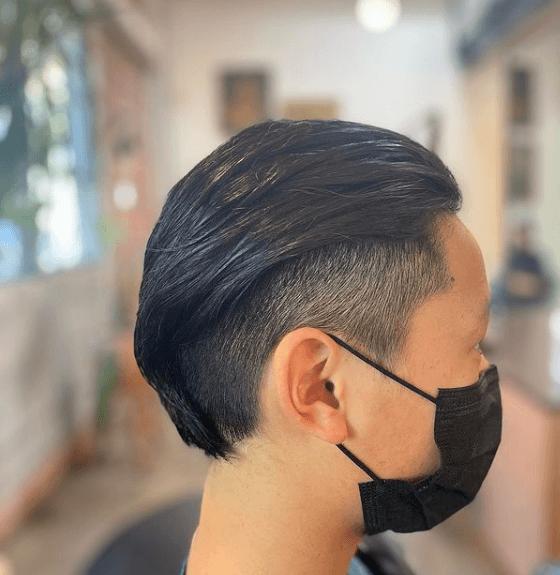 Cortes de Pelo para Adolescentes 2022 peinado atrás