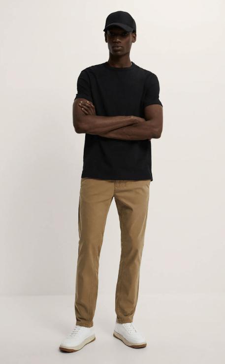 Cuáles son las diferencias entre un pantalón slim y un pantalón skinny y sus particularidades Zara skinny chino temporada primavera verano 2021