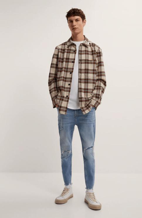 Cuáles son las diferencias entre un pantalón slim y un pantalón skinny y sus particularidades Zara skinny denim temporada primavera verano 2021