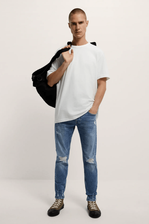 Cuáles son las diferencias entre un pantalón slim y un pantalón skinny y sus particularidades Zara skinny vaquero temporada primavera verano 2021