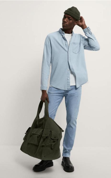 Cuáles son las diferencias entre un pantalón slim y un pantalón skinny y sus particularidades Zara skinny jeans temporada primavera verano 2021