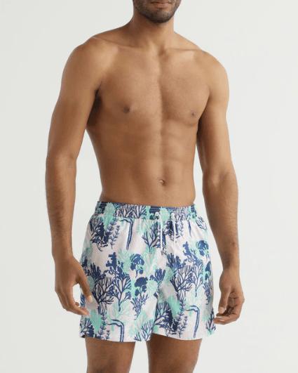 Los mejores bañadores cortos de hombre para Verano 2021 Hackett estampado