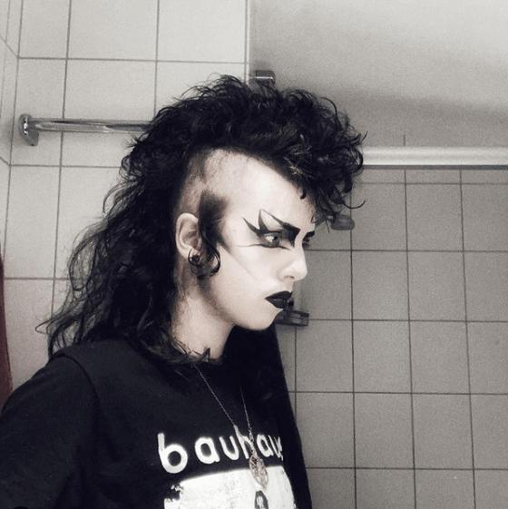 Mullet para hombres modernos 2021 gótico
