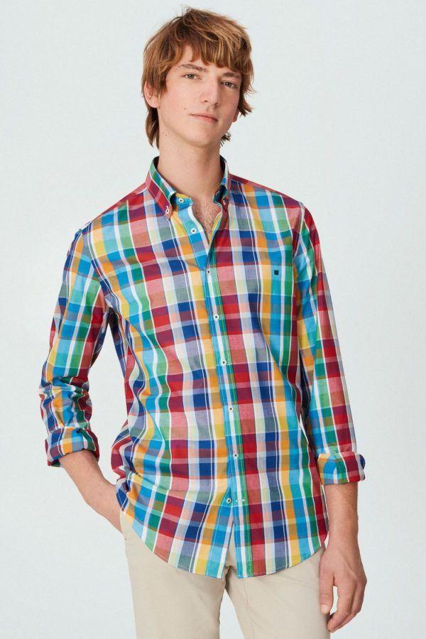 Purificacion garcia rebajas para hombre camisas multicolor