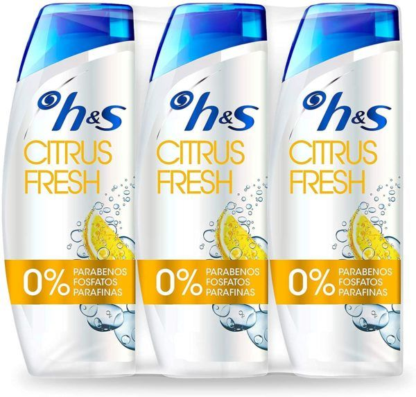 Los 10 mejores champús de hombre para pelo graso H&S Citrus Fresh